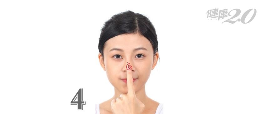 過敏、天冷讓人鼻塞了 4招「通鼻按摩」速解!
