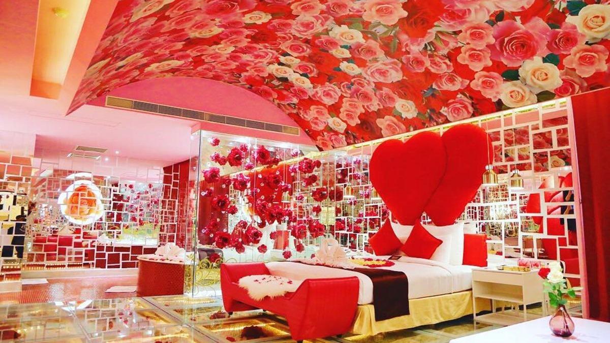 滿滿玫瑰啊 最強 告白房型 這浪漫磁場太強大 食尚玩家
