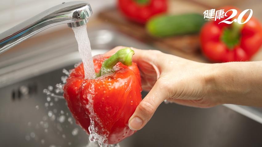 蔬果清洗法大全:掌握4字訣、洗掉3種農藥安心吃