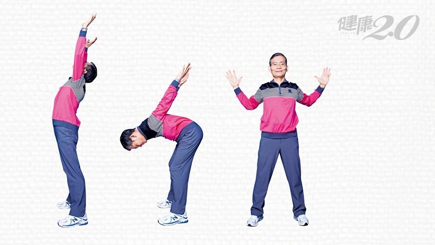 低頭族每45分鐘做一次!簡文仁親授「胸椎伸展操」