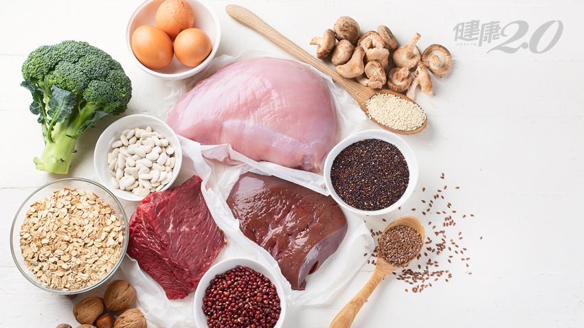 多吃紅紫色能補血?營養師公開最強含鐵食物 提高吸收飲食法