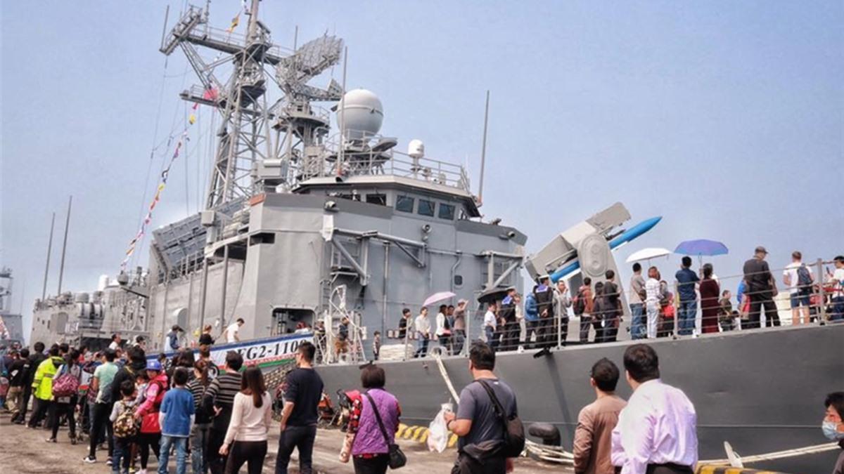 3月限定!敦睦艦隊停靠全台7港口 民眾可登3軍艦免費參觀