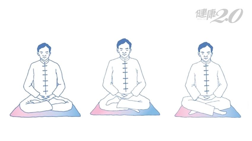 現代人適用的靜坐法:入坐前念《心經》、下座前練「十二段錦」