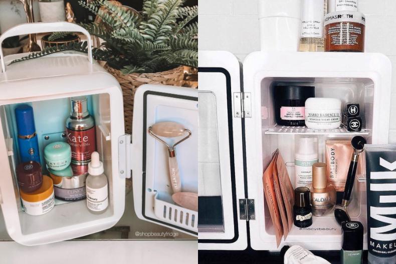 刷爆欧美IG,超可爱「美容小冰箱」!原来这几样保养品要冷藏!!