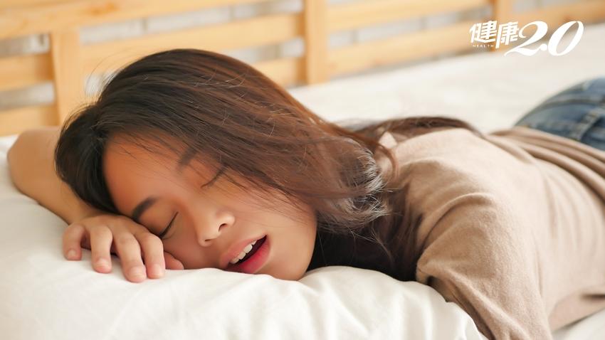 睡覺流口水是病兆?醫師告訴你原因 睡前別太興奮