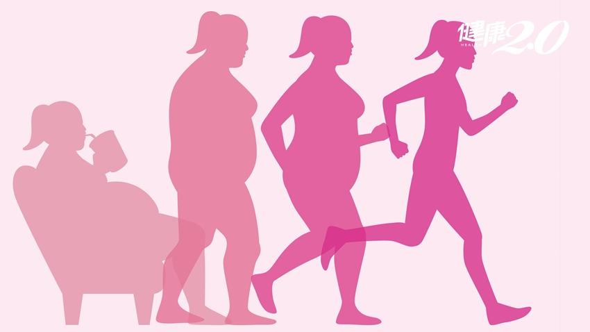 脂肪體積是肌肉的3倍!醫師告訴你,減重只要一個觀念就足夠