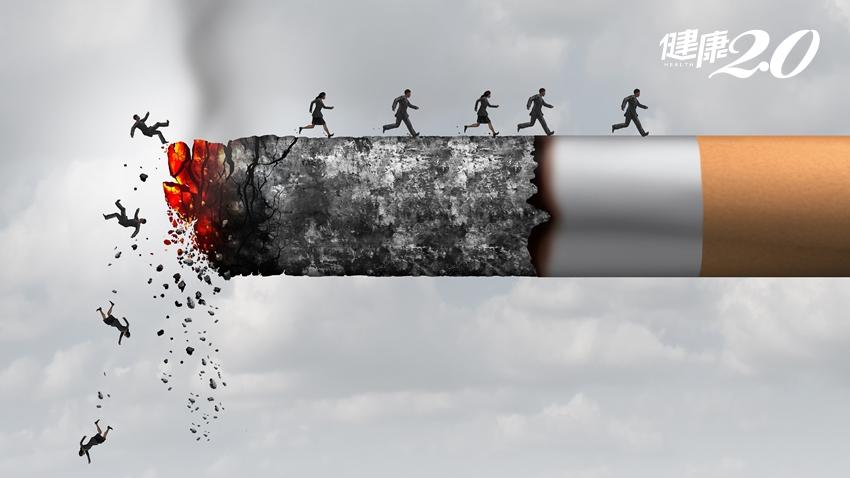抽菸不只會得肺癌,還有7種癌症在等你!戒菸成功2大關鍵就是…