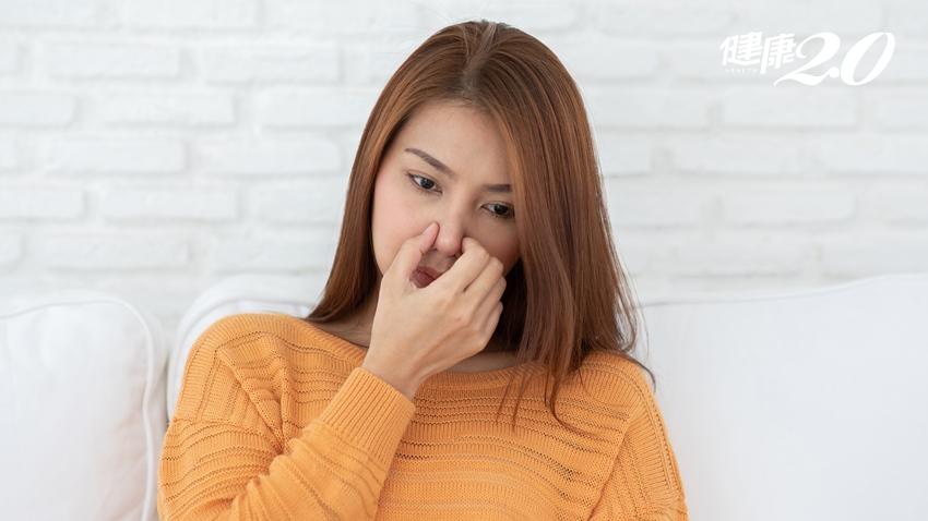 女子反覆鼻塞竟是鼻腔塞滿乳突瘤 長期單側鼻塞不可大意