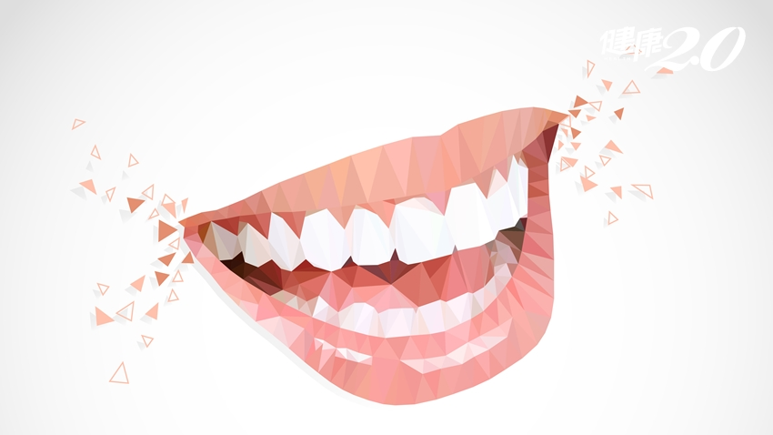 嘴破、口臭、牙齒痛…一張表告訴你 10種口腔問題缺了哪些營養