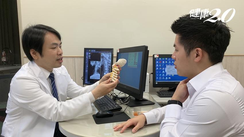 除了手麻,頸椎骨刺也會造成聲音沙啞? 3招幫脊椎釋壓