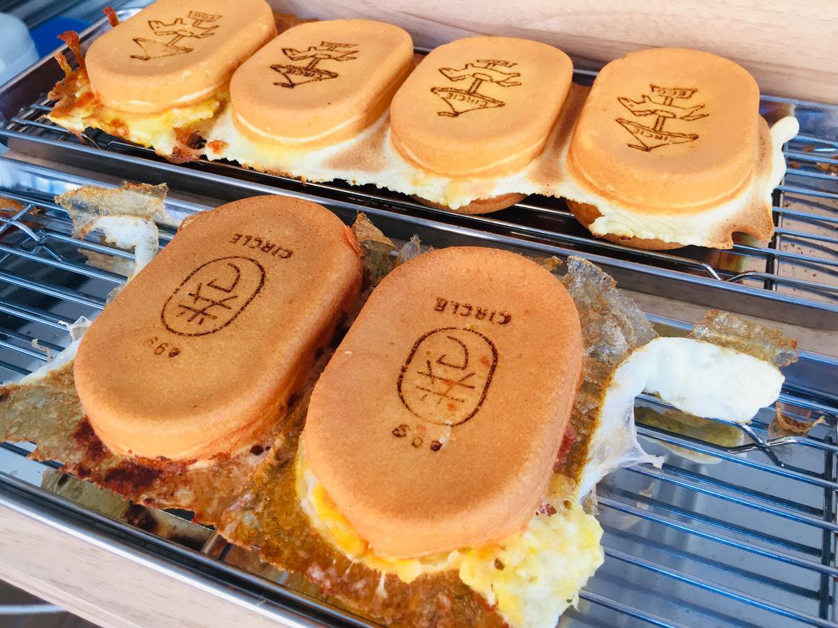 台南IG打卡美食轉圈圈雞蛋糕