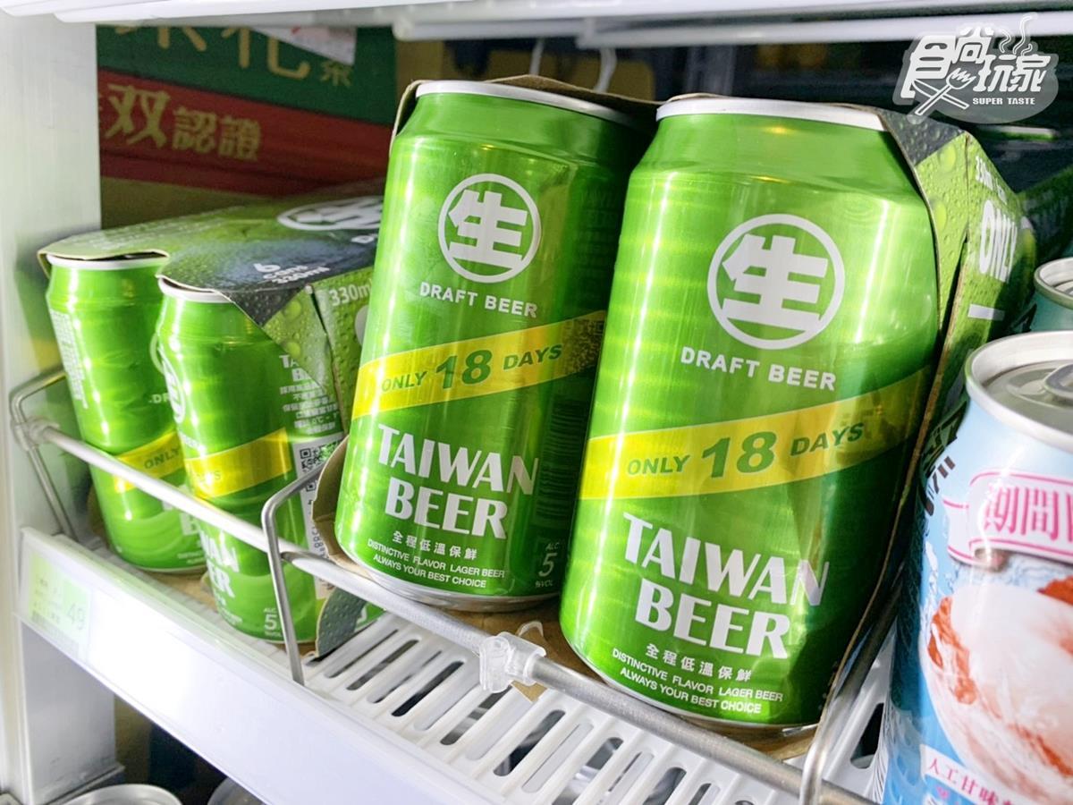 手刀囤貨去!台啤快閃優惠「18天生啤酒」限時5天、第二瓶10元