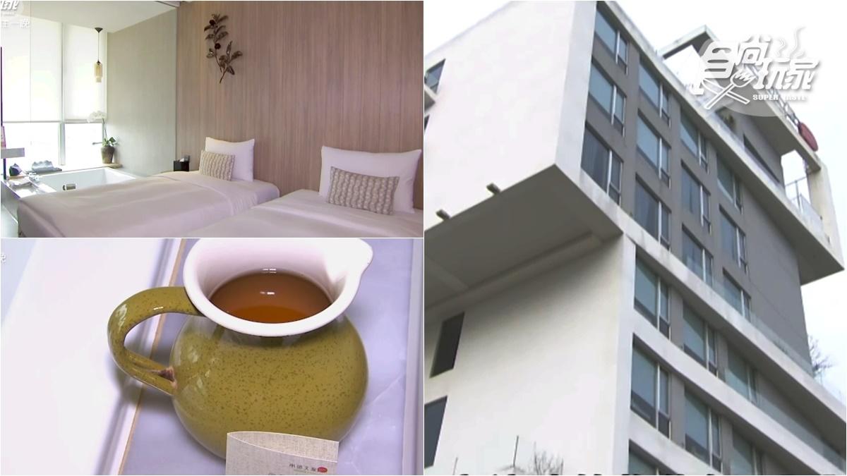 全台最美旅店!大廳泡茶、大浴缸泡茶湯,還有高空酒吧、無邊際泳池