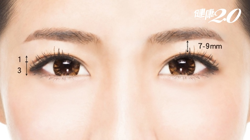 雙眼皮貼恐讓眼皮更鬆弛 3種方法打造完美眼型