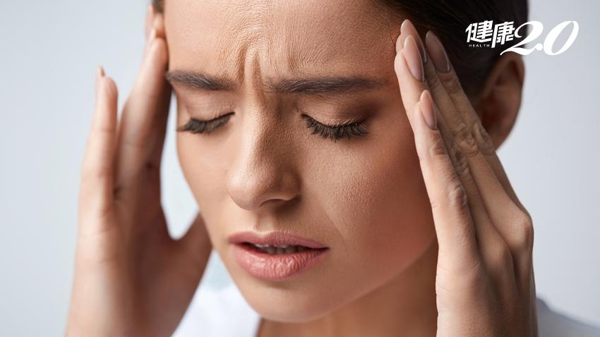 她心跳一下頭就痛一下,止痛藥愈吃愈痛! 醫師「這樣」解救偏頭痛