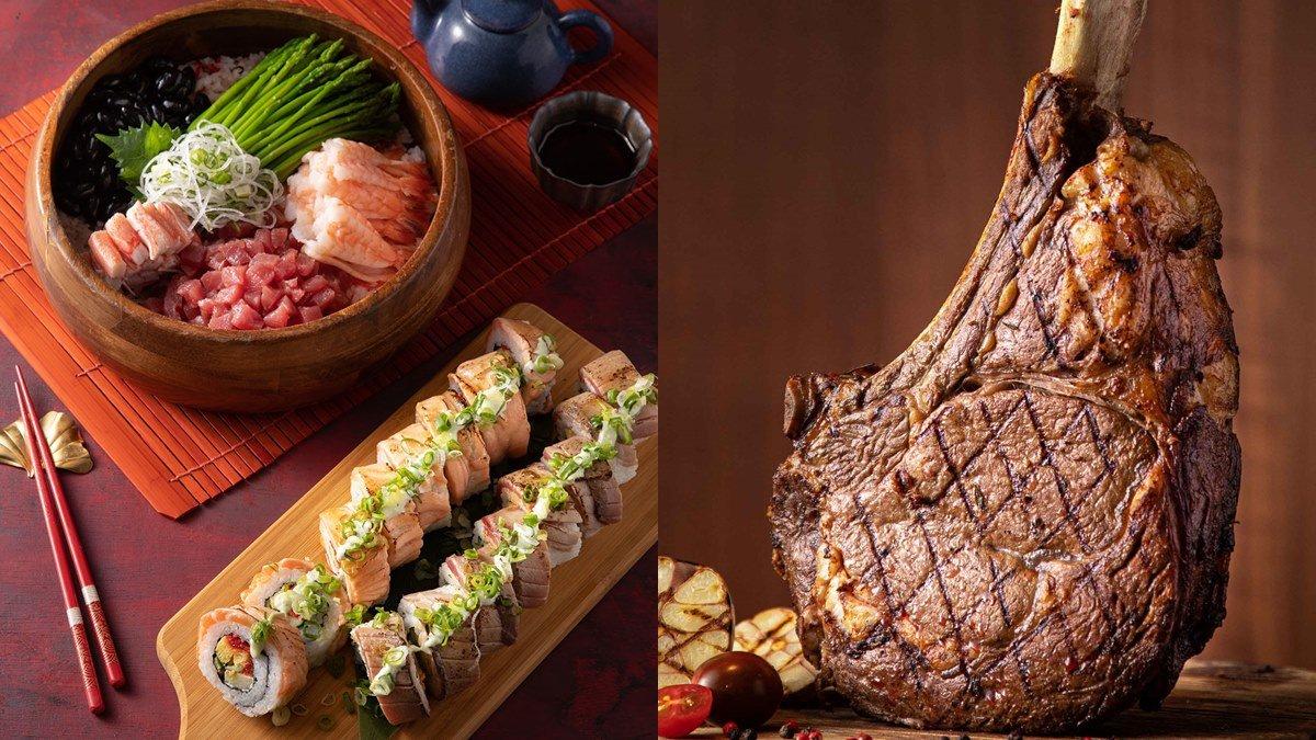 超狂Buffet只有一個月!整條鮪魚吃到飽+巨無霸戰斧牛排899元