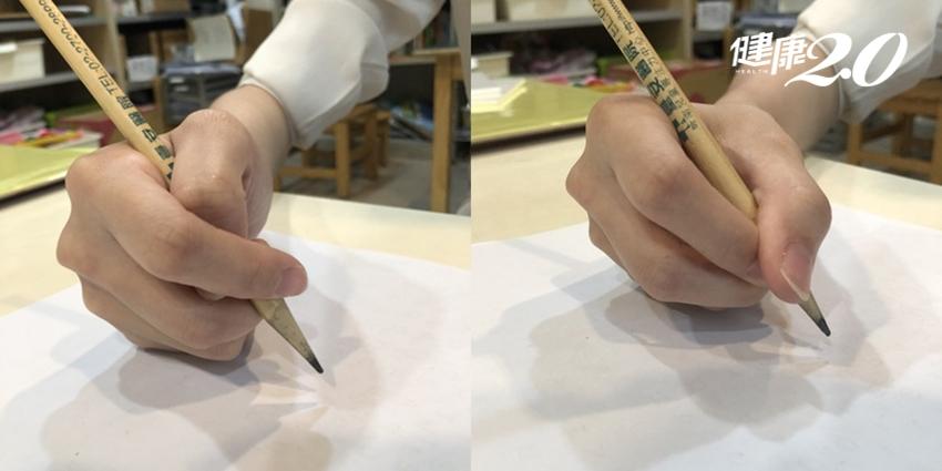 7種常見握筆姿勢,你是哪一種?握對了寫字不累又有效率