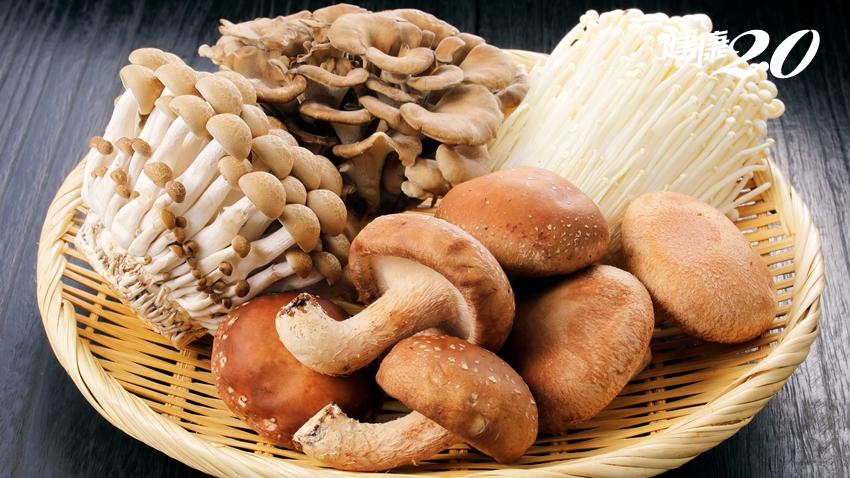 蕈菇類潤腸、排毒、人不老!主廚教你3招料理密技