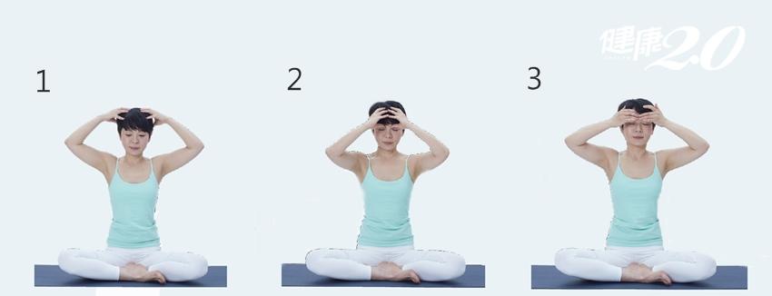 消除頭部緊繃 快做「頭蓋骨按摩」放鬆筋膜