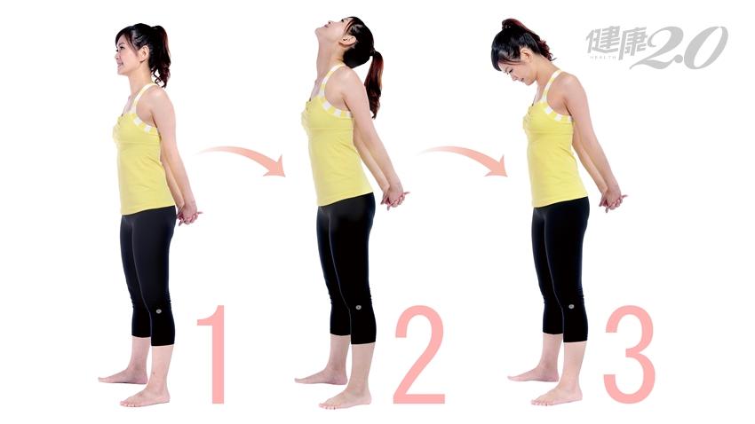90秒簡單伸展,「消痠解痛」擺脫肩頸痛、駝背、胸悶!