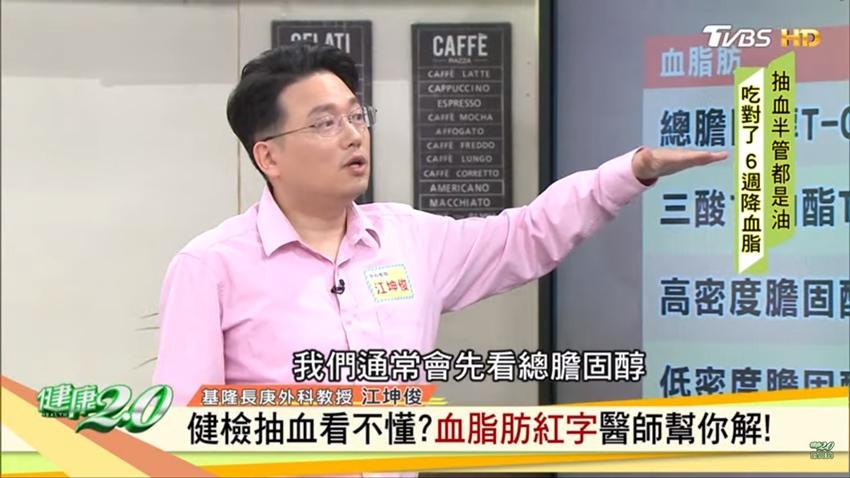 薏仁當飯吃居然三酸甘油脂飆高!名醫江坤俊教你看懂健檢報告