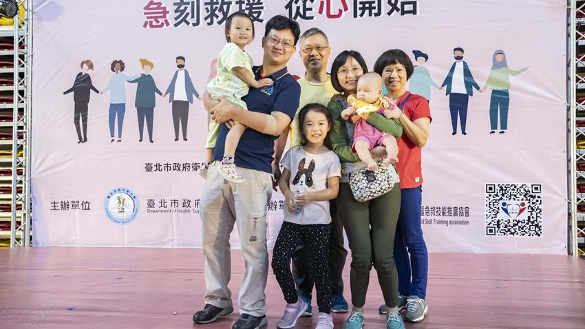 推動萬人學會CPR計畫 急診醫師徐嘉鴻:急救教育要從小做起