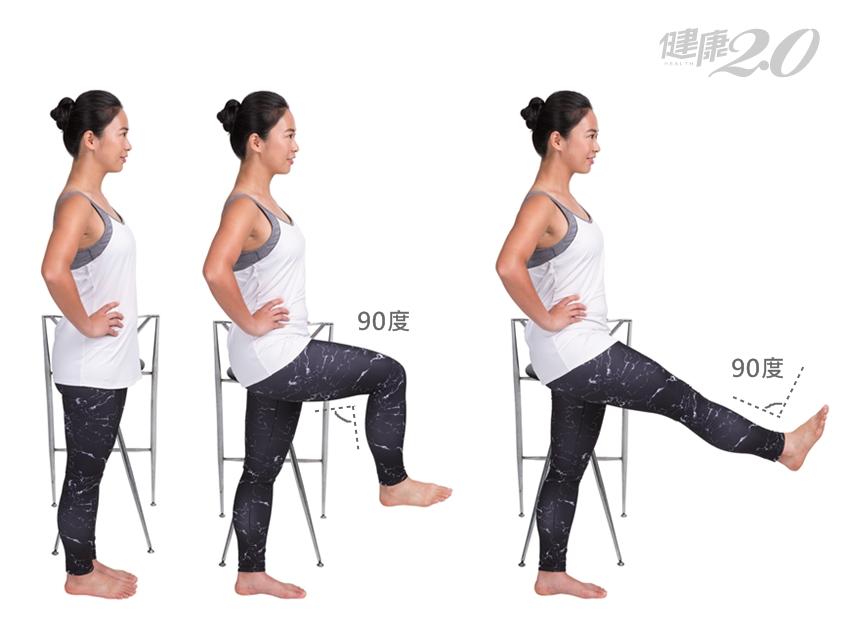 保養髖膝關節4運動 久坐久站、運動前暖身都適用