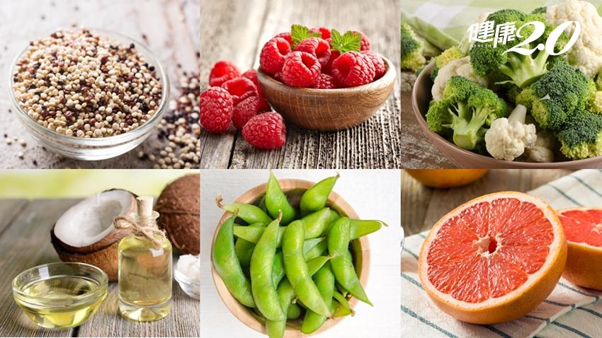 抗氧化又能減重的「十大超級食物」 藜麥、毛豆、花椰菜都上榜了