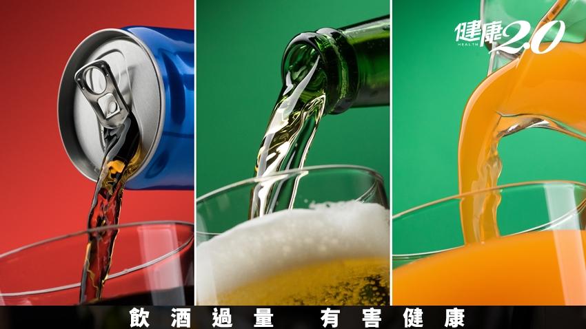 不喝酒就能遠離脂肪肝?錯!常喝飲料也會出事