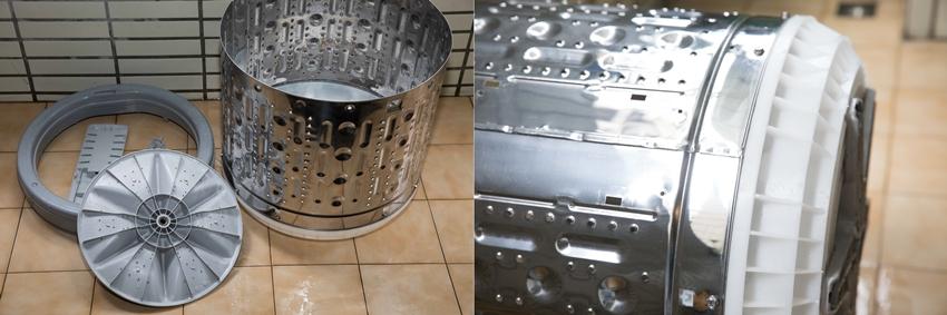 「胎哥」洗衣機90分鐘變新機!專業拆洗洗衣槽終結霉味、棉絮,完勝清潔錠