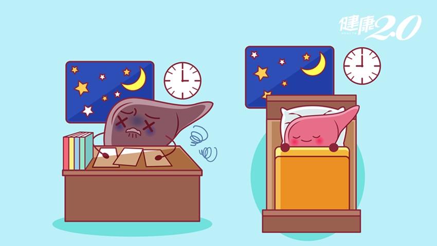 熬夜會爆肝?疲勞是肝不好?保肝片能降肝指數?醫師這樣說