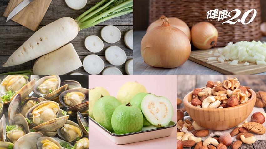 PM2.5和肝癌、骨鬆都有關!5大類食物有效抗空汙