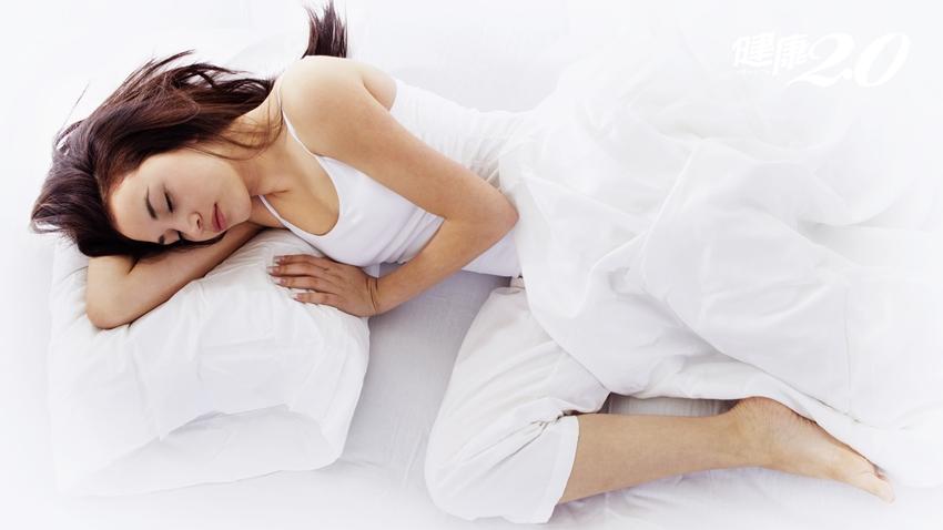 1個睡姿改善肝腎功能 隔天起床神氣爽朗
