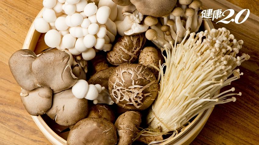 肚子愈吃愈凹!日本營養師揭露:菇類這樣吃,瘦肚清腸道