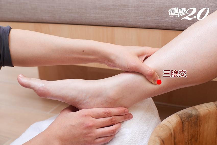 小腿上1神穴,改善更年期症候群!中醫師公開獨門診治祕方