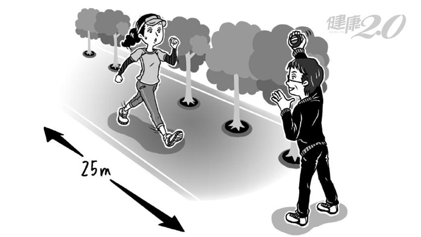 走25公尺你要花幾秒?2招自我檢測下肢肌耐力