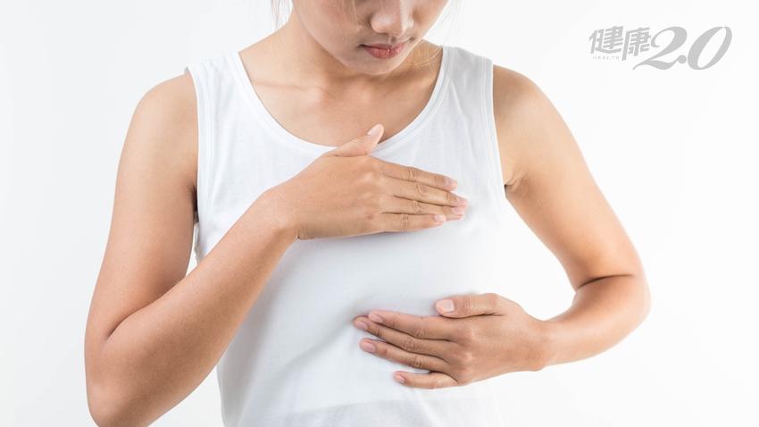 乳房凹陷、按壓會痛、乳頭分泌物…6種症狀是乳癌嗎?江坤俊來解答