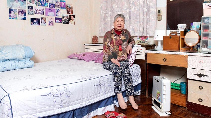 「長照」不求人!老公寓變智慧照護宅,80歲奶奶靠緊急按鈕求救成功