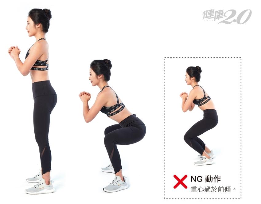 鍛鍊下半身、改善腰痠背痛 「4款深蹲」訓練菜單全在這!