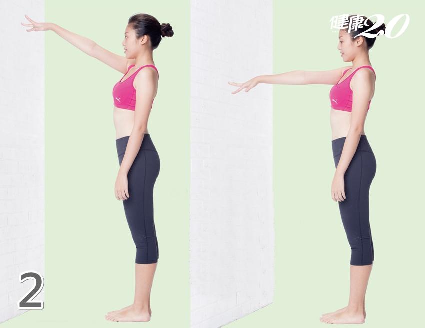 每天3次「手指爬牆運動」 強化肩環帶區、肩膀不再卡卡