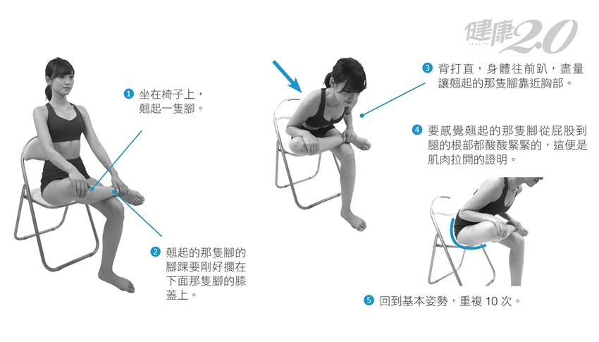 隨時練3組「緩解腰痛」伸展操 肌肉不緊繃、不萎縮!