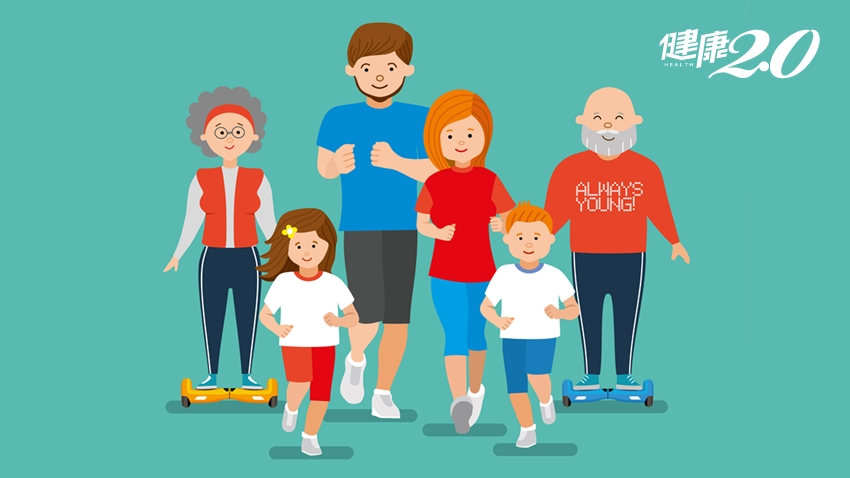 關節保養不分年齡!全家一起做「下肢訓練」4招