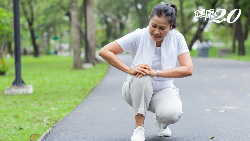 膝蓋痛打針、做關節鏡都沒效?人工膝關節換半套 活動靈活不卡關