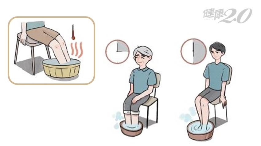 足浴養生好處多!水溫水位、泡多久、何時泡…中醫師來解答