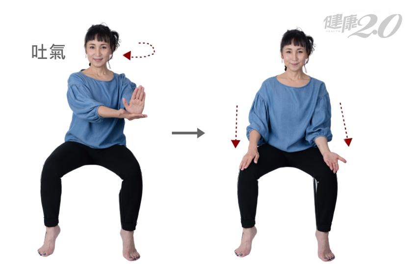 坐著練2招「肋骨操」 放鬆脊椎、加強胸椎柔軟度