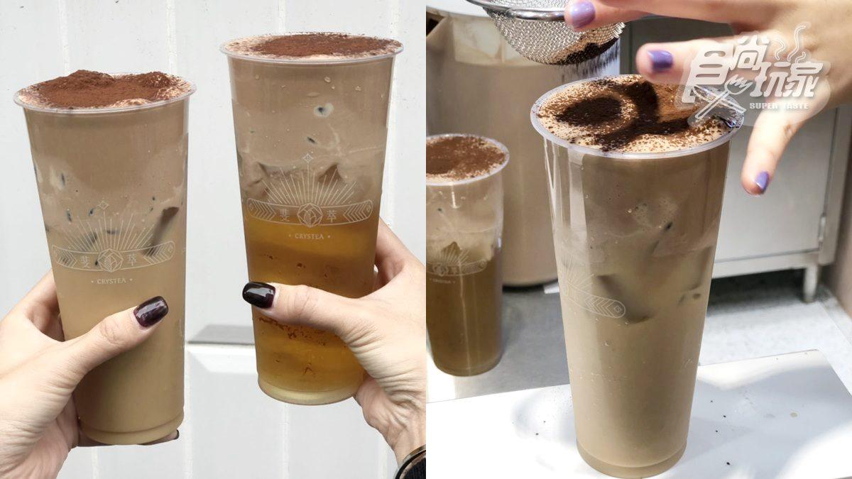 【新開店】台北飲料控筆記!新手搖飲插旗夜市,主打「皇爵巧克力奶蓋」系列