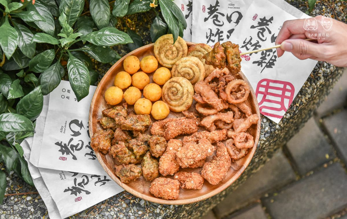 豐原「廟東小吃街」超人氣這10攤:甜甜圈版蔥仔餅、85年鳳梨冰、三角肉圓