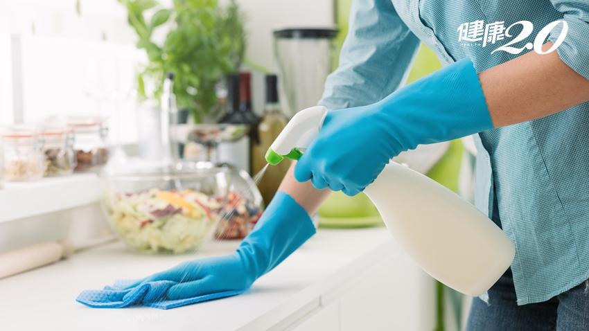 漂白水環境消毒 日本專家指3大常見錯誤打掃方式不改,反而容易生病
