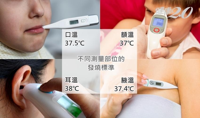 我有發燒嗎? 為什麼額溫、耳溫不一樣?醫師教怎麼量體溫比較準