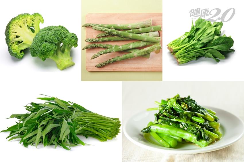 對抗骨鬆的無名小卒「維生素K」 7種深綠色蔬菜是完美來源